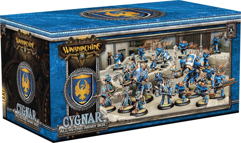 WARMACHINE: All-in-One Army Box - Cygnar PIP31119
