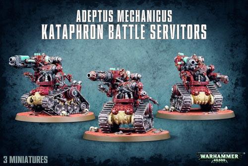 Adeptus Mechanicus Kataphron Battle Servitors
