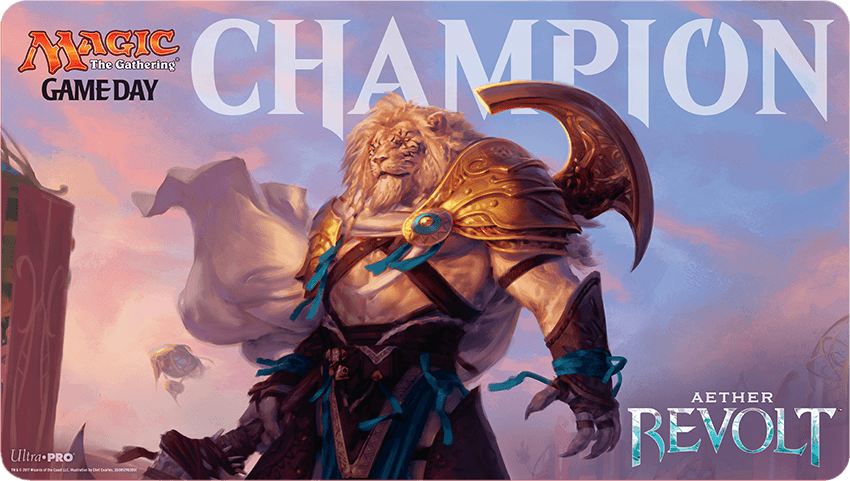 aether revolt game day playmat