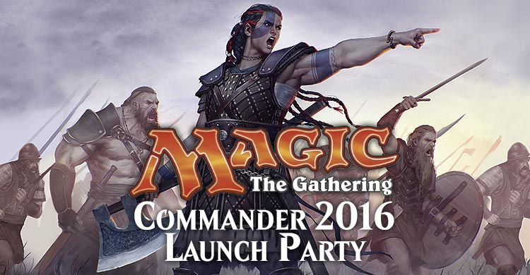 Commander Launch Party