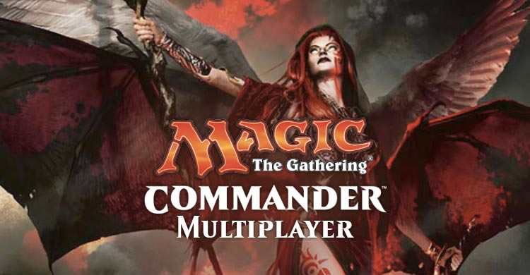 Mtg commander multi-players Verdun