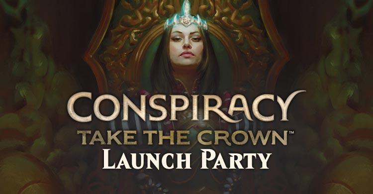 conspiracy take the crown launch party verdun