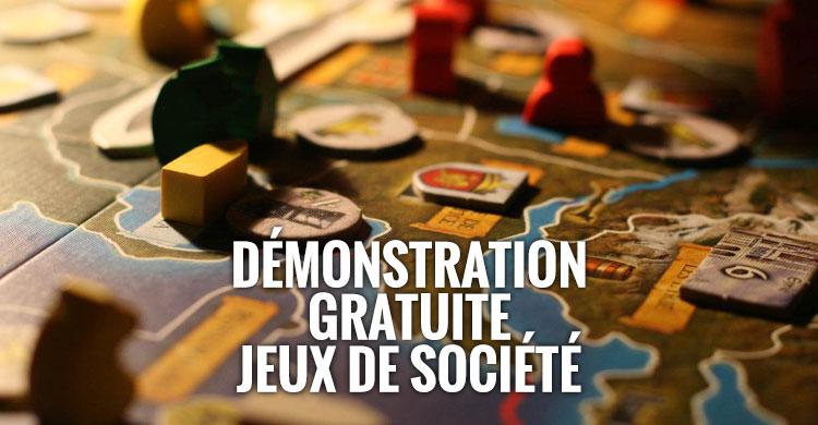 demonstration jeux societe