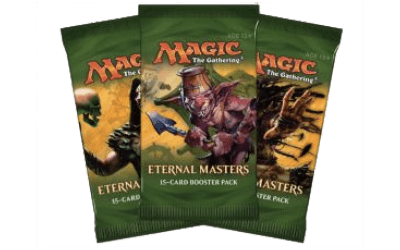 5 boosters Eternal Masters pour 49.99$
