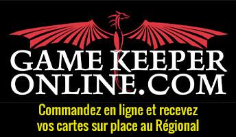 gamekeeper online pickup sur place
