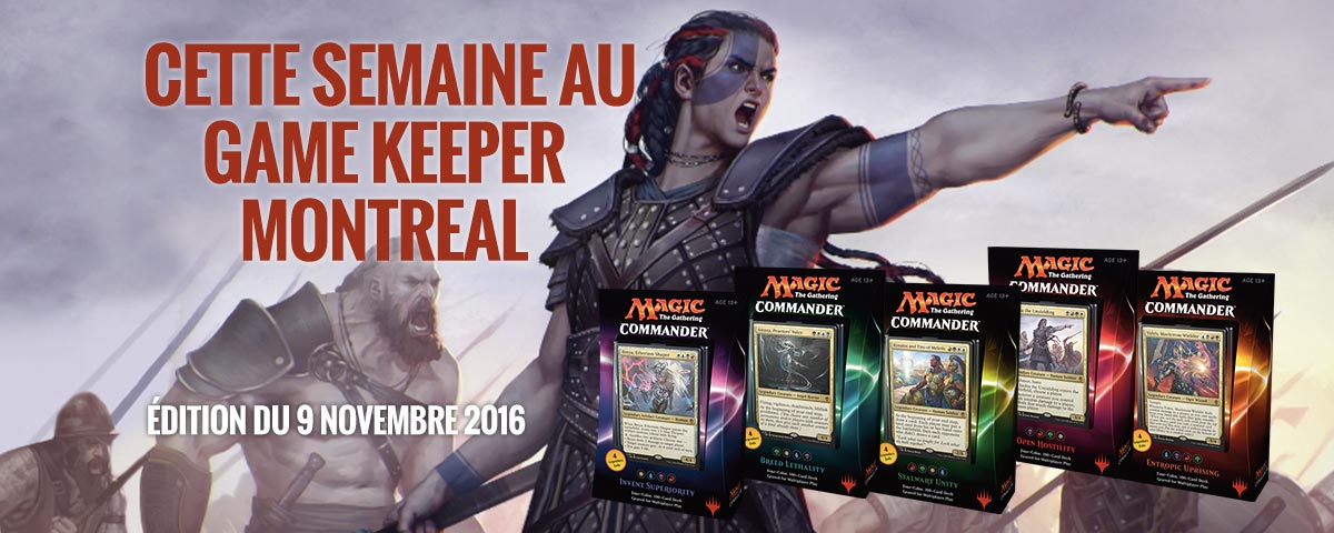 nouvelles game keeper montreal 9 nov 2016