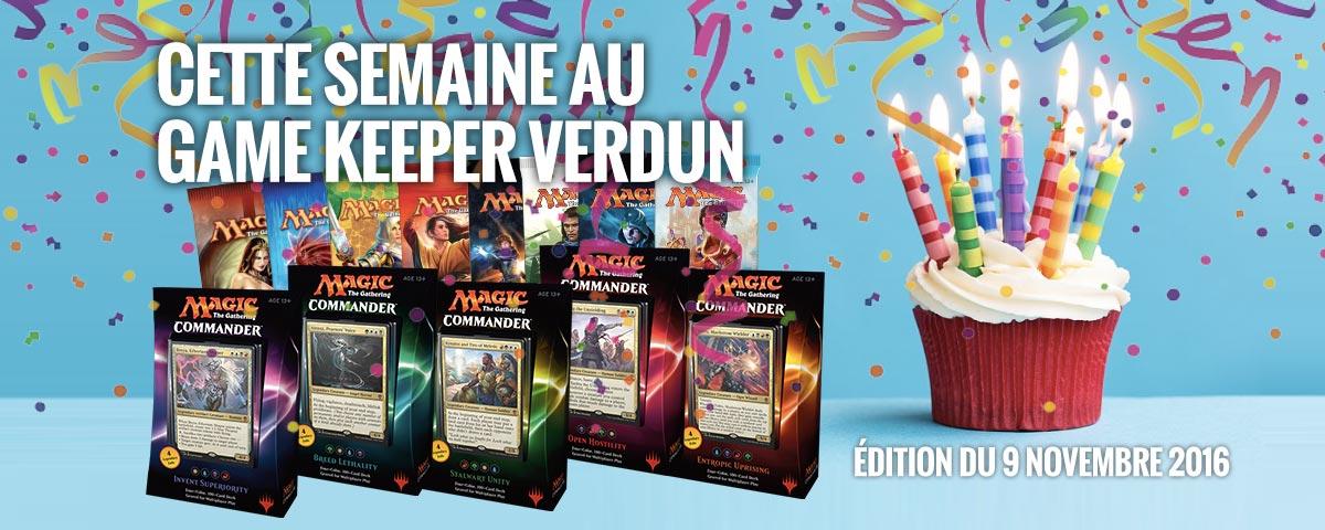 nouvelles game keeper verdun 9 nov 2016