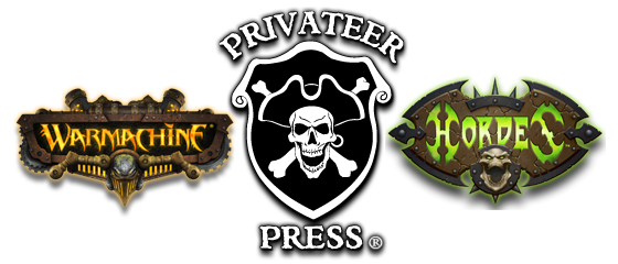 30% de rabais sur tout le Privateer Press