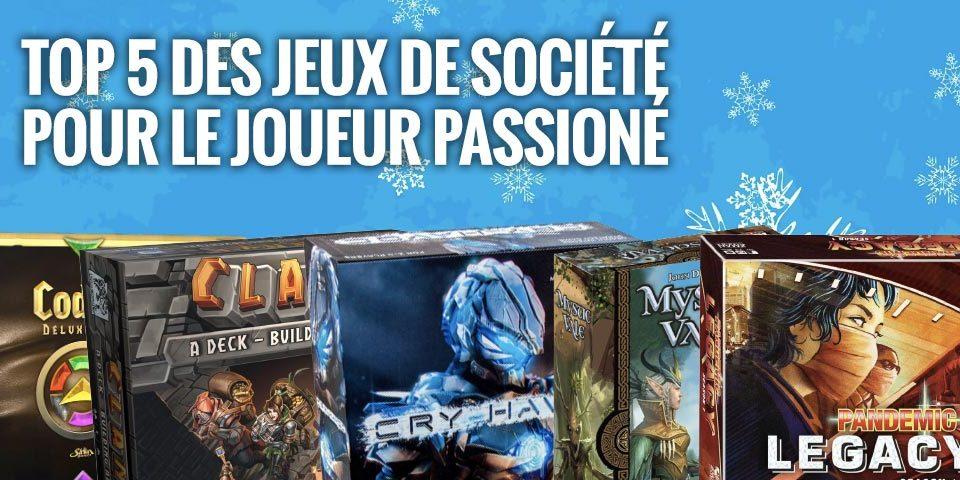 top 5 jeux societe joueur passionne