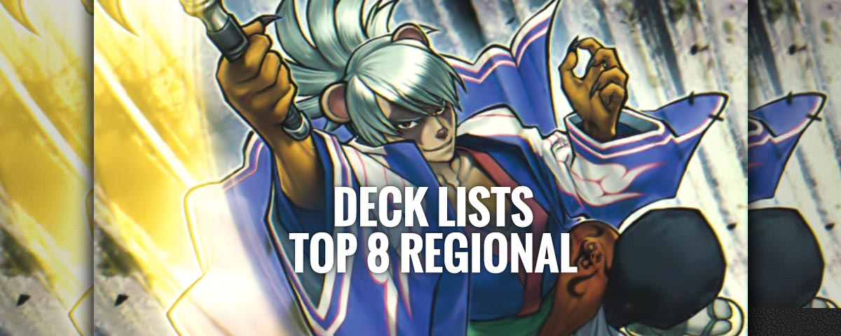 top 8 deck lists regional mai 2016